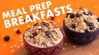 5 Easy Breakfast Meal Prep Ideas – No Recipe Needed!