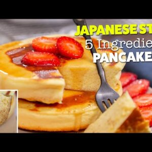 How To Make Fluffy Protein Japanese Pancakes