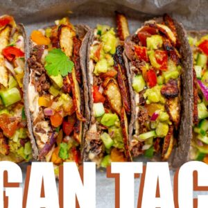 EPIC VEGAN TACOS | SUPER EASY AND MADE FROM SCRATCH