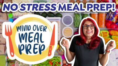 How to Meal Prep WITHOUT Stress? ANNOUNCEMENT!