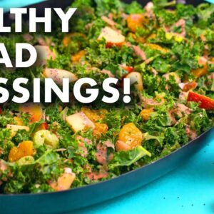 5 Healthy Homemade Salad Dressing Recipes!