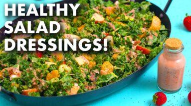 5 Healthy Homemade Salad Dressing Recipes!