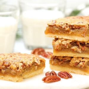 BEST-EVER Pecan Pie Bars | Delicious Christmas Desserts