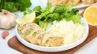 Creamy Caesar Chicken Recipe   Perfect for Weeknight Dinner & Meal Prep