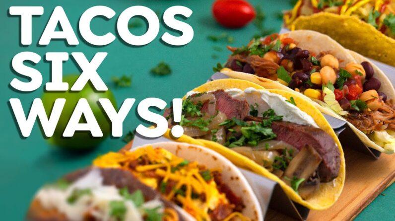 Easy TACOS 6 Ways – Fish Tacos, Steak Tacos & More!
