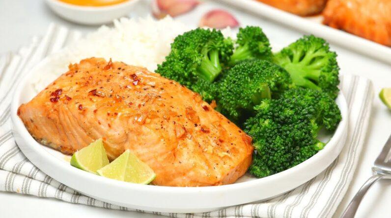 Honey Garlic Salmon | Healthy + Quick + Easy Dinner Recipe