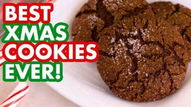 Mindful Eating my FAVORITE Crinkled Molasses Cookies!