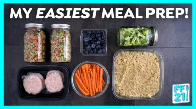 My EASY Meal Prep + ANNOUNCEMENT!
