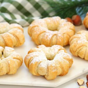 Puff Pastry Nutella Donuts | 2 Ingredient Christmas Dessert