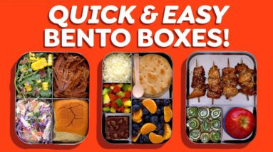 3 Quick & Easy Bento Box Lunch Ideas