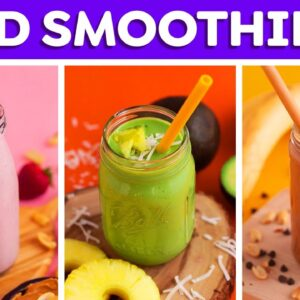 4 Kids Smoothies Recipes + Smoothie Bowls!