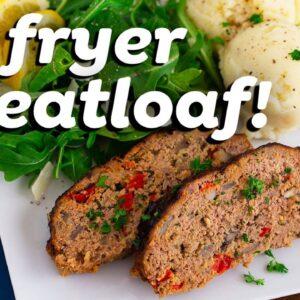 Air Fryer Meatloaf vs. Oven Meatloaf Recipe!