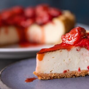 DELICIOUS VEGAN BAKED CHEESECAKE | THE HAPPY PEAR