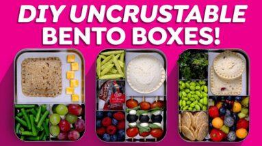 DIY Uncrustables Bento Box Lunches!