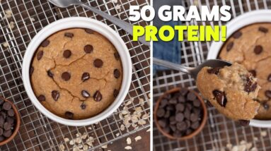 Easy High PROTEIN Baked Oatmeal Recipe