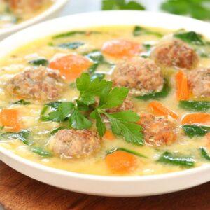 Italian Wedding Soup | Make Ahead + Freezer Meal Recipe