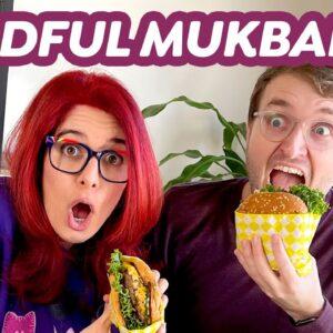 Mindful Mukbang!? Impossible Burger vs Beyond Burger