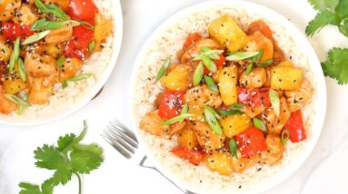 Pineapple Chicken Recipe | Quick + Easy Weeknight Dinner Idea