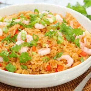 Shrimp Fried Rice | Easy 15 Minute Dinner Recipe