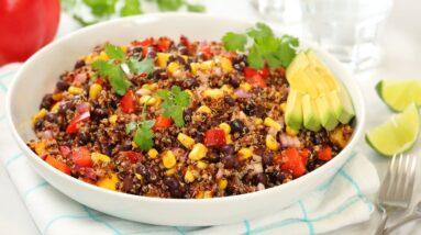 Southwestern Quinoa Salad | Healthy Make Ahead Summer Recipe!