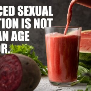 THE AROUSER SMOOTHIE | A PLANT BASED DIET CAN SOLVE BLOOD FLOW ISSUES