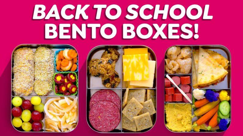 Back to School Bento Box Lunch Ideas