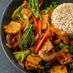 SWEET & SOUR TEMPEH in 5 MINUTES