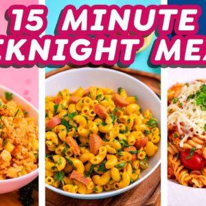 15-Minute Easy Weeknight Meals
