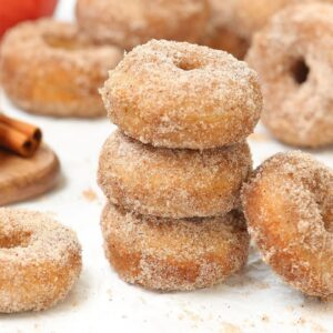 Apple Spice Donuts | Easy & Delicious Fall Baking