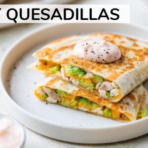 QUESADILLA RECIPE   how to make easy quesadillas